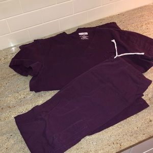 Barely worn scrub set